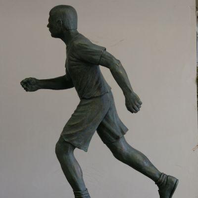 Spiros Louis Commemorative sculpture