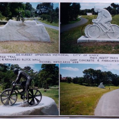 Bikepath Sculptures - Knox Council