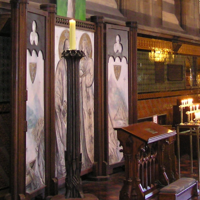 Papal Candlestand - St. Pauls Cathedral