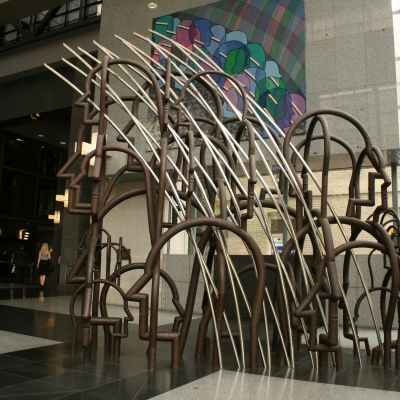 Telstra Sculpture - currently at Mount Buller