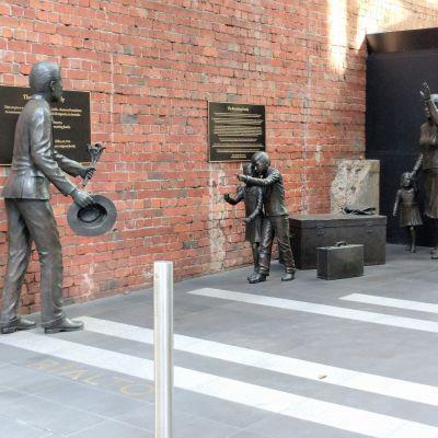 Reuniting Family - Rialto Building, Melbourne